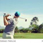 Golferellenbogen-golferschulter-Golferrücken